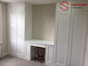 Photo of Fitted Wardrobe and Vanity Unit