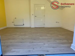 new laminate flooring fitted